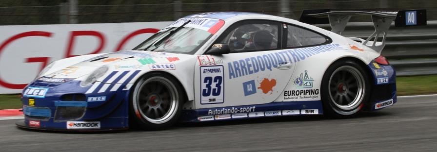 Glauco Solieri e la sua  Porsche 997 GT3 pronti a scendere in pista nella GTSPRINT !