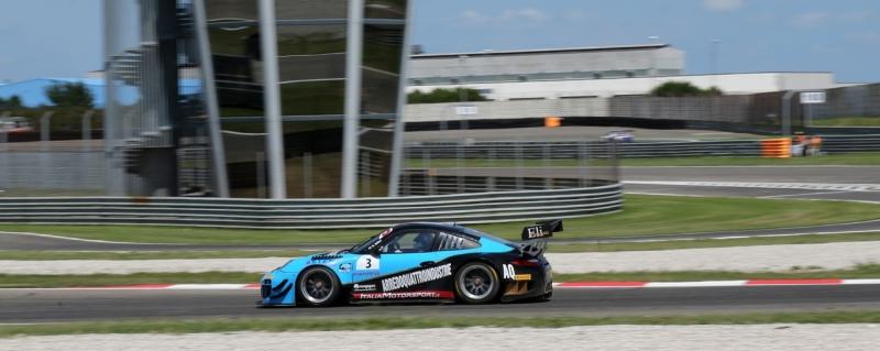 Weekend molto complicato quello di Adria per Glauco solieri nella Porsche Targa Italia