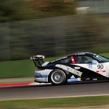 A Imola weekend difficile per Glauco Solieri in entrambe le gare del Carrera Cup Italia
